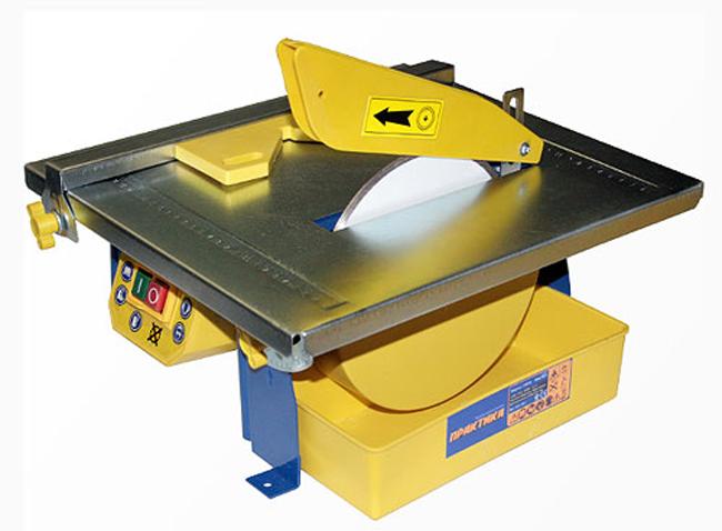 Электрический плиткорез предназначенное для резки плитки, стекла и камня толщиной, превышающей 15 мм