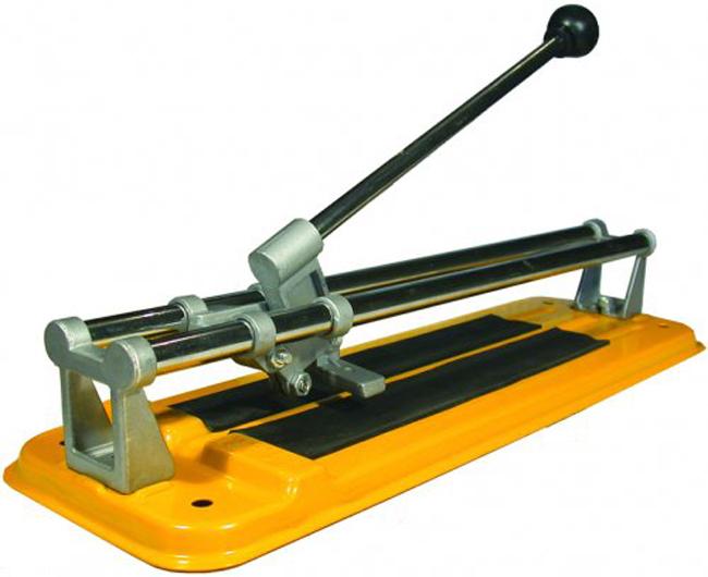 Настольный плиткорез предназначен для выполнения прямого реза и подрезания стекла и плитки, толщина которых не более 15 мм