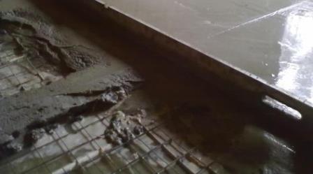 Арматура придаст необходимую жесткость и прочность  бетонному покрытию