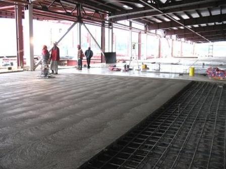 Тип бетонного промышленного пола, напрямую будет зависеть от области применения