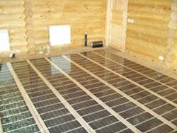 Плёночный тёплый пол может использоваться как основное или как дополнительное отопление
