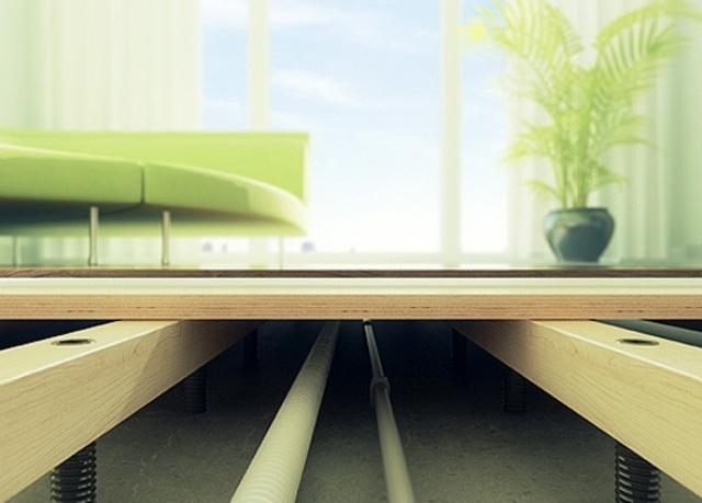Какой бы вариант конструкции деревянного пола на лагах ни был принят, в его основе всегда будут лежать классические конструктивные схемы