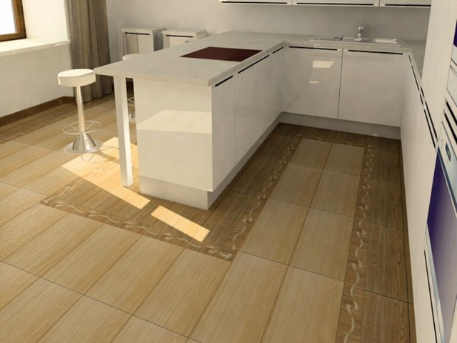 Визуально увеличить помещение помогут материалы с глянцевым покрытием. Матовое же, наоборот, уменьшит пространство