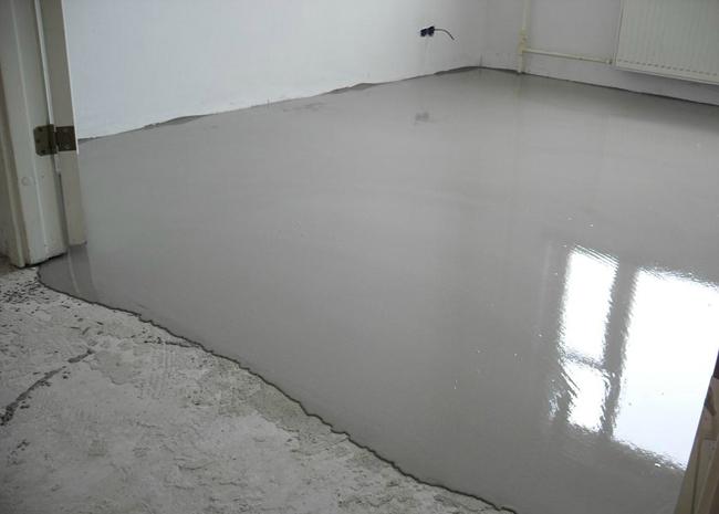 Смеси на цементной основе можно использовать как стяжку