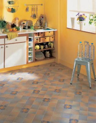 Ванная и кухня – очень посещаемые комнаты, и требования к покрытию высоки