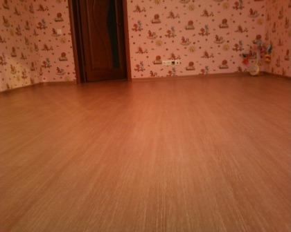 Линолеум и размер комнаты