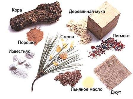 Для производства натурального линолеума используют только природные материалы