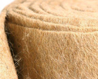 Натуральные волокна льна и джута обладают гигроскопичностью (впитывают влагу)