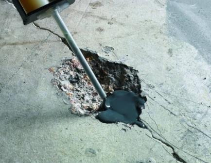 Устранить дефект на полимерном бетонном покрытии не составит труда