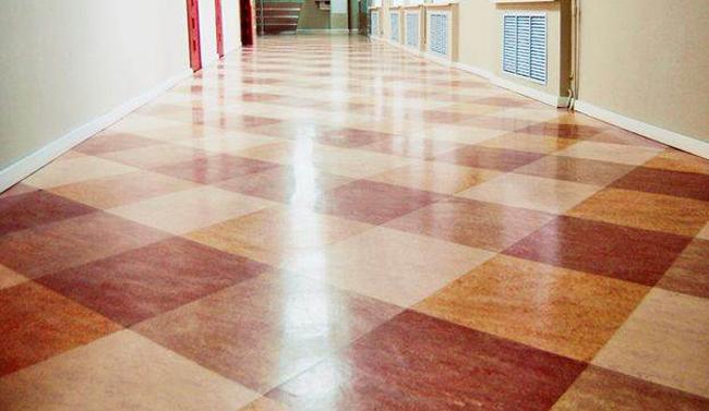 Коммерческие модели линолеумов, уложенные в помещениях с повышенной посещаемостью, способны прослужить не меньше керамических напольных покрытий или мраморной плитки