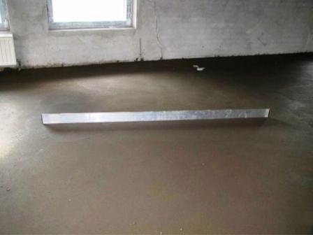 Раствор обычно готовят  из строительного песка,  цемента марки 400, соблюдая пропорцию «один к трем»