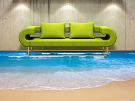 Наливные полы – это технология, позволяющая сделать собственную квартиру неповторимой
