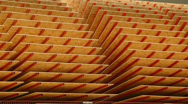 Существует всего четыре вида ориентированно-стружечных плит