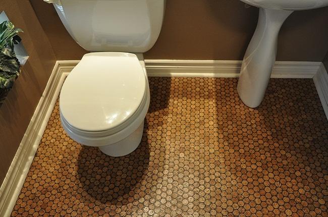 Пробковый пол не стоит устанавливать в помещениях, где наблюдается высокий уровень влажности