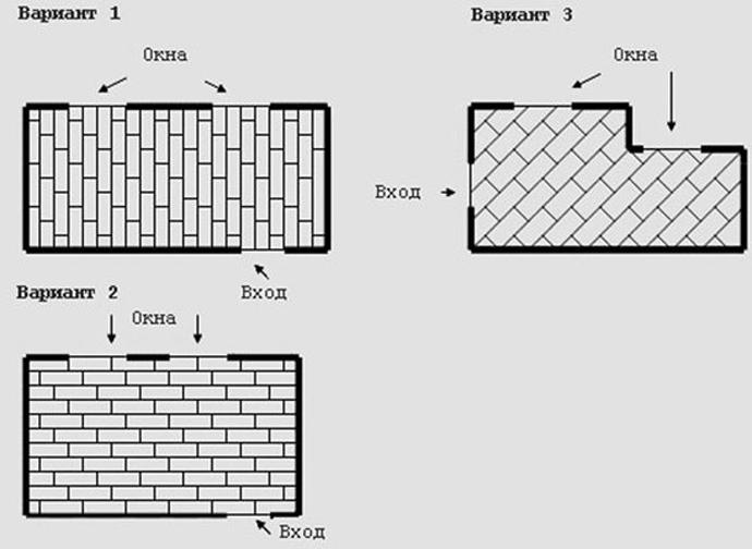 Необходимое количество ламината зависит от выбранного способа его укладки