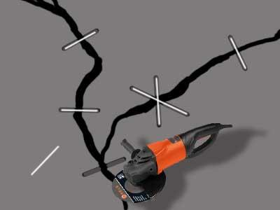 Как отремонтировать бетонную стяжку