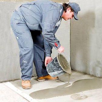 Ремонт бетонной стяжки