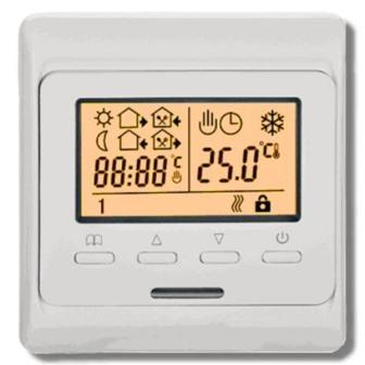 Программируемый термостат экономит расходы на электроэнергию в ваше отсутствие