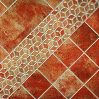 Керамическая плитка применяется для отделки как внутренних, так и наружных поверхностей
