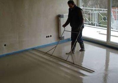 Особенности бетонных полов