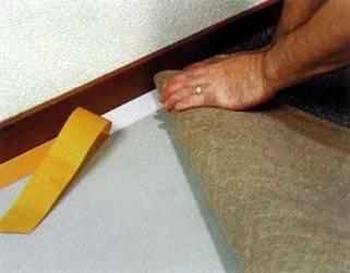 Как стелить ковролин