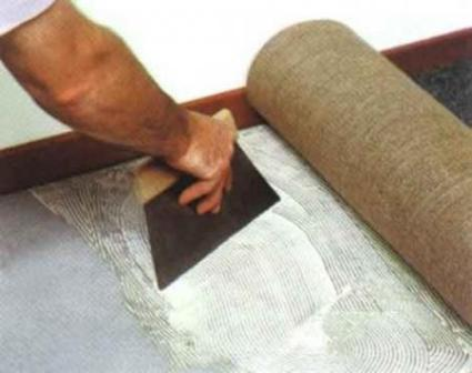 Методы укладки ковролина