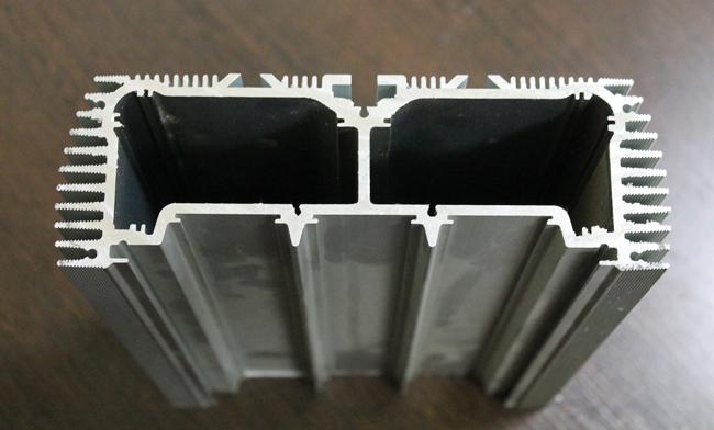 Так выглядит анодированный алюминиевый профиль