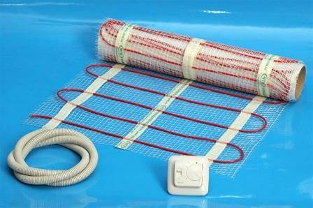 Монтаж теплого электрического пола на основе нагревательных матов вполне возможен собственными руками