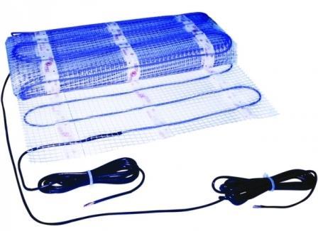 Одножильные кабельные теплые полы – самый распространенный вариант