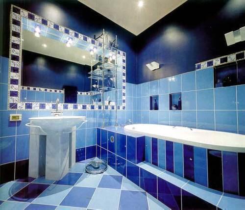 Облицовка ванной комнаты кафелем – практика проверенная десятилетиями