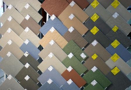 Керамогранит выпускается в нескольких модификациях поверхности и всевозможными  цветовыми решениями