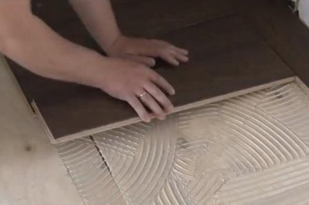 Способы укладки массивной доски