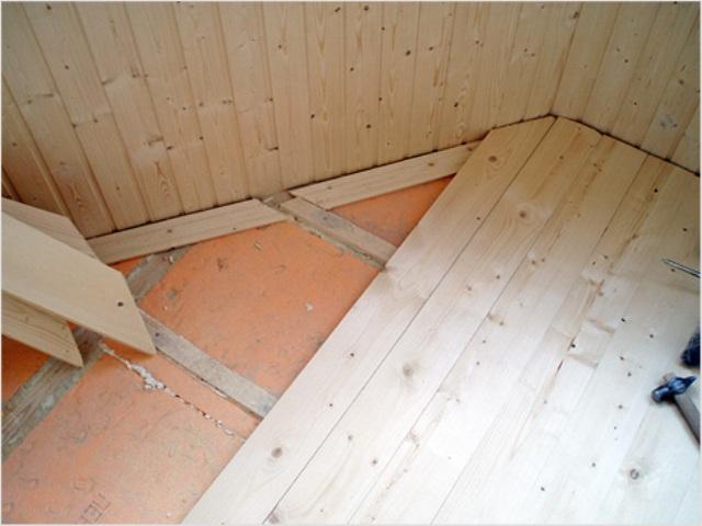 Будучи мягким и волокнистым материалом, минватные плиты чаще всего используются для утепления полов над подпольем или над бетонными перекрытиями