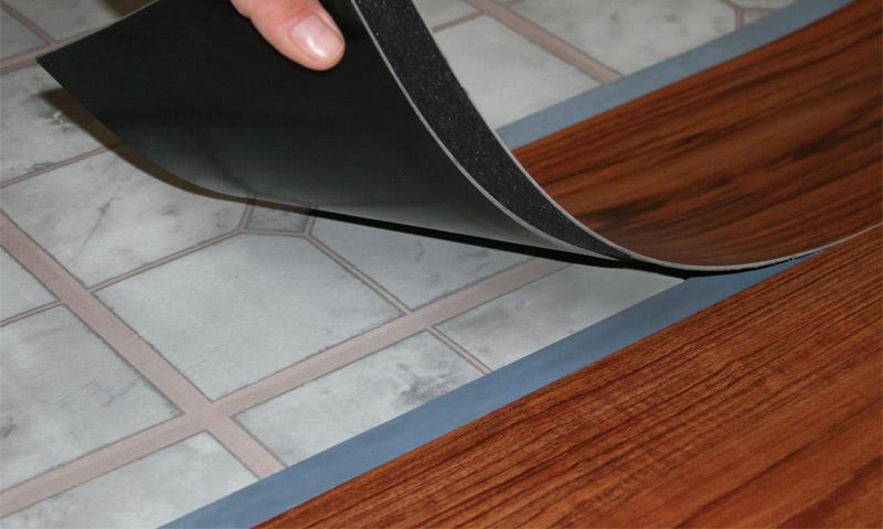 Использование винилового ламината в качестве покрытия пола стремительно набирает обороты