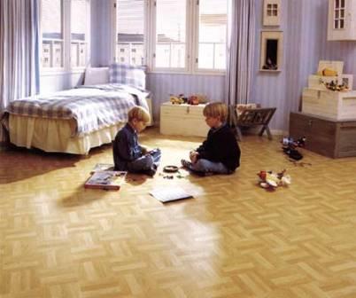 Для детской комнаты подойдет линолеум с маркировкой 2.2 (для жилых помещений средней нагруженности)