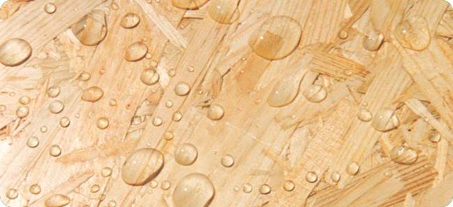 ОСП-4 используется при изготовлении конструкций в условиях повышенной влажности