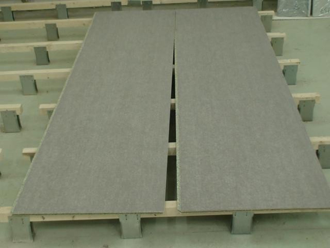 Под плитку пол можно смонтировать из цементно-стружечных плит