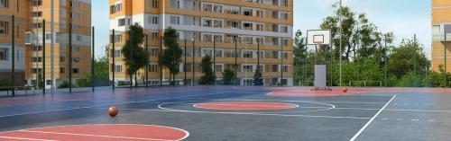 Пять домов ЖК «Спортивный квартал» планируется ввести до конца октября