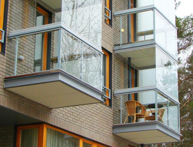 Сстекло для балконных ограждений