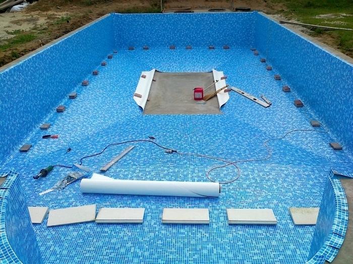 Материалы для внешней и внутренней гидроизоляции бассейнов