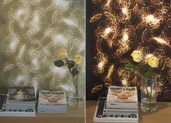 Светящиеся обои: выбор и поклейка