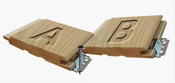 7 советов по креплению вагонки: способы и виды крепежа