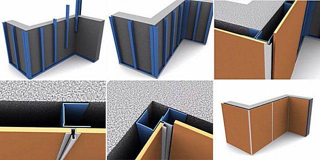 Негорючие панели для внутренней отделки