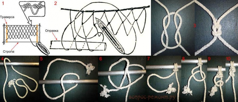 Как сделать гамак своими руками? Схемы, чертежи, инструкция.