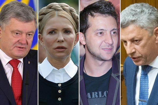 Кто лидирует на выборах в Украине 2019