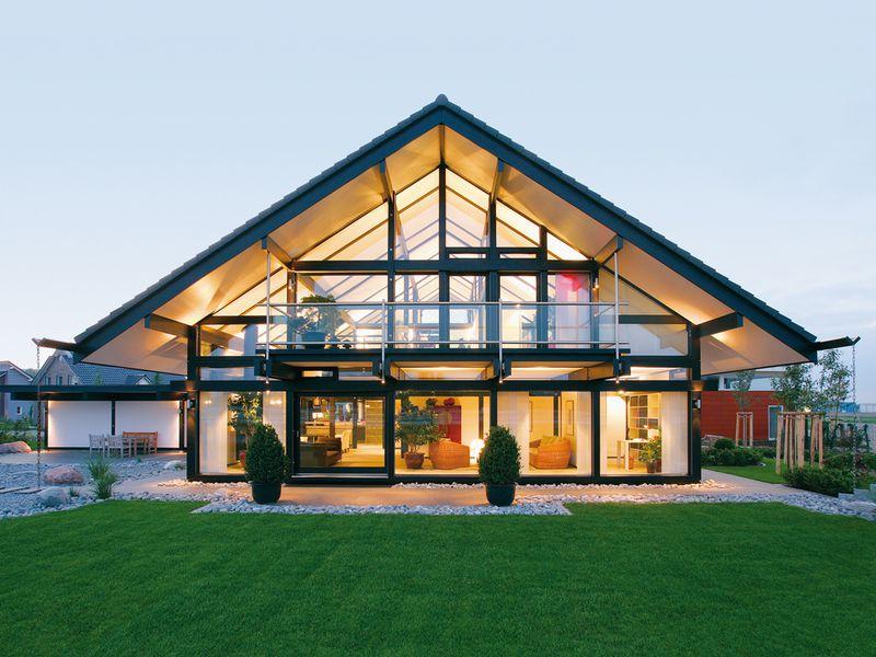 Фахверковый дом в немецком стиле