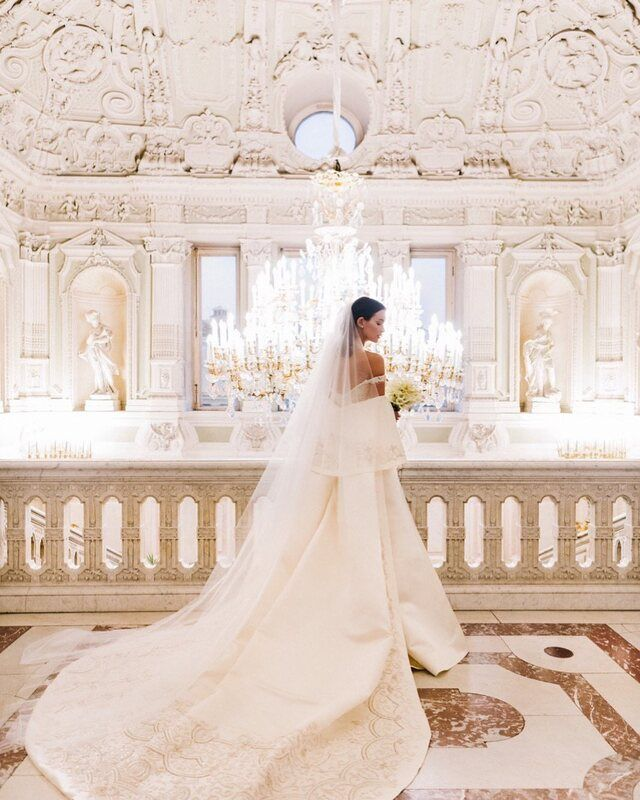 Глюк'оZа расплакалась на свадьбе Паулины Андреевой и Федора Бондарчука