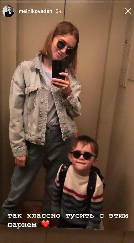 Дарья Мельникова рассказала, как справляется с истериками 3-летнего сына