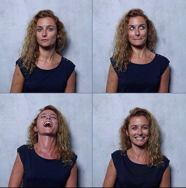 Как меняются лица людей, когда они выпивают 1, 2, 3 и 4 бокала вина? (20 фото)