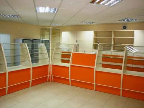 Мебель для магазина на заказ в Киеве